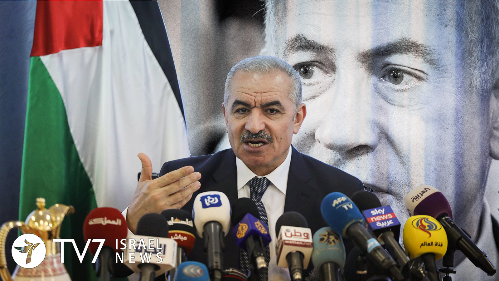 Mohammad Shtayyeh, Palestinian Prime Minister_flash90