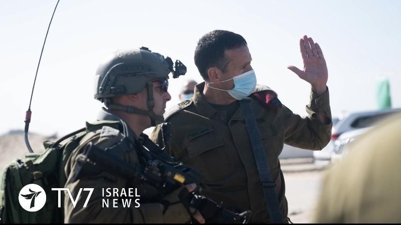Testing the Gaza Division in a surprise scenario. Halevi. Photo; IDF